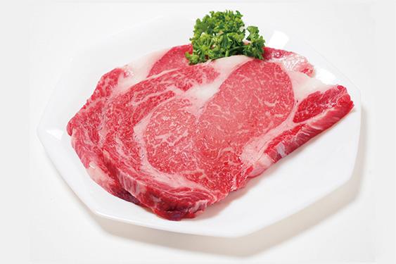 ブレスエアー®製敷布団の品質は牛肉のステーキと同じ:近江牛の写真